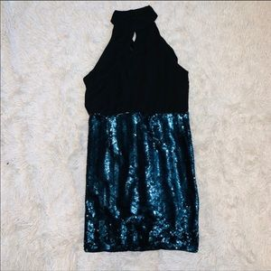 Sequined Dress L Forever 21